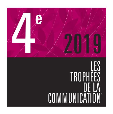 Logo trophées de la communication